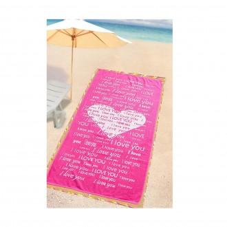 Özdilek Plaj Havlusu Love Pretty-Plaj
